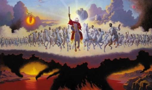 rider on white horse