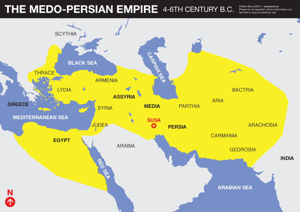 Image result for medo persian empire map